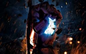 Picture cinema, fire, battlefield, flame, war, Iron Man, movie, ruins, hero, film, armour, Robert Downey Jr., …