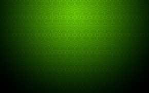 Picture patterns, green