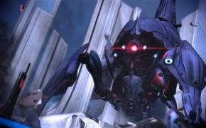 Picture Mass Effect, art, Reaper, Leviathan, Reaper
