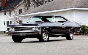 Picture coupe, Chevrolet, Chevrolet, Coupe, 1967, Impala, Hardtop, Impala, SS 427