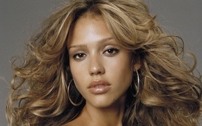 Wallpaper beauty, jessica alba, girl, actress, face, model, hair