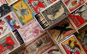Picture Retro, Box, Matches, Collection