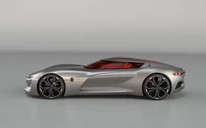 Picture car, concept, Renault, wallpaper, luxury, gray, automobiles, official wallpaper, desing, technology, beauty on wheels, high …