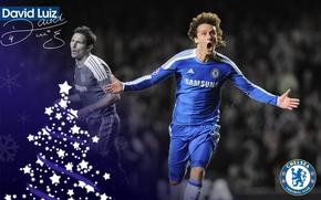 Picture wallpaper, sport, football, player, David Luiz, Chelsea FC