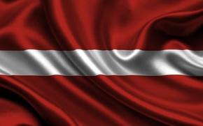 Picture flag, Latvia, latvia