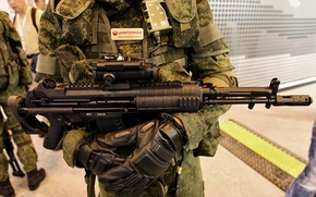Picture Machine And-545 — the heir design of the AEK-971, created under the leadership, Bureau, the …