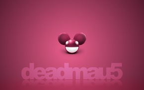 Picture minimalism, creative, club, background, beautiful, deadmau5, music, dark