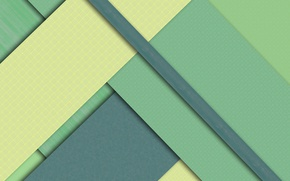 Picture line, green, geometry, design, color, material