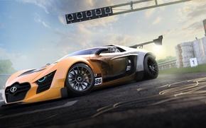 Picture Concept, Car, Lada, Front, Future, Track, Next, 3D Graphics