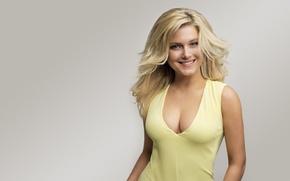 Picture sexy, dress, blonde, neckline, singer, Jeanette Biedermann