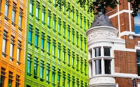 Picture England, London, Windows, building, architecture, London, England, West End, West End