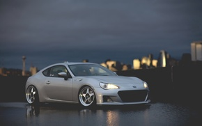 Picture night, coupe, Subaru, sports car, Subaru, brz, quick
