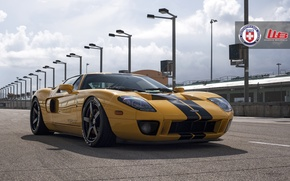 Picture Ford, yellow, hre, gt