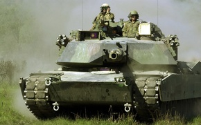 Picture weapons, tank, M-1A1 Abrams