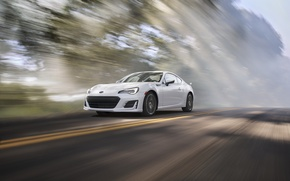 Picture car, auto, Subaru, wallpaper, white, Subaru, BRZ