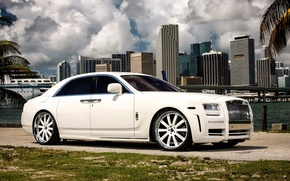 Picture Rolls-Royce, 2010, Mansory, Limited, rolls-Royce, White Ghost