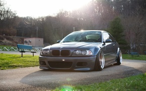Picture tuning, bmw, BMW, tuning, power, germany, low, stance, e46