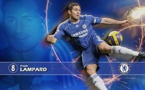 Picture wallpaper, sport, stadium, football, Frank Lampard, player, Chelsea FC