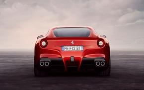 Picture red, red, ferrari, Ferrari, F12