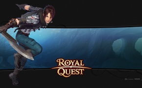 Picture sword, guy, Royal Quest, Katauri Interactive