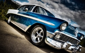 Picture Chevrolet, Bel Air, 1958