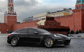 Wallpaper Moscow, the Kremlin, porsche, panamera