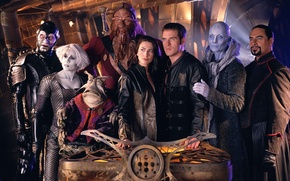 Picture ship, the series, actors, the room, are, Far across the Universe, farscape
