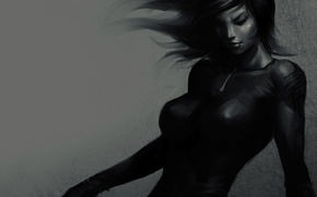 Picture girl, Stanley Lau, in motion, Artgerm