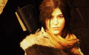Picture lara croft, brunette, rise of tomb raider