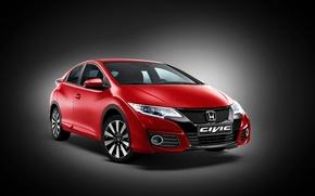 Picture background, Honda, Honda, Coupe, Civic, civici