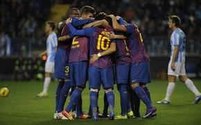 Picture football, spain, football, messi, villa, barcelona, andres iniesta