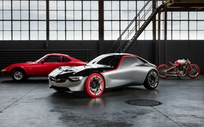 Wallpaper Concept, Opel, the concept, Opel