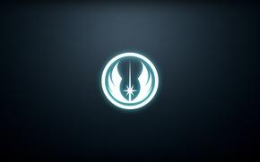 Picture logo, Star Wars, star wars, logo, Jedi, jedi