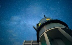 Picture the sky, stars, light, Windows, The Milky Way, telescope, Observatory, secrets