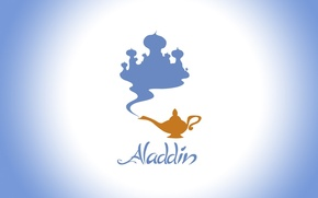 Picture lamp, Disney, Palace, Aladdin, Disney, Aladdin