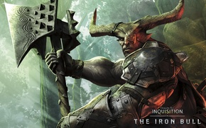 Picture Warrior, BioWare, Electronic Arts, Dragon Age: Inquisition, Kunar, The Iron Bull