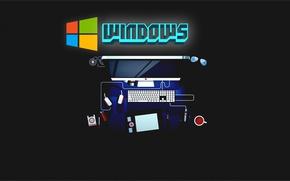 Picture Windows, Windows 10, Ultra HD, 4k