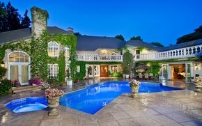 Picture Villa, pool, ranch, rancho, Way Of The Bird