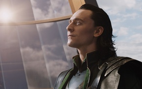 Picture villain, team, Marvel, superheroes, The Avengers, The Avengers, Loki, Loki, Tom Hiddleston, Tom Hiddleston, S. ...