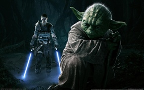 Picture Star Wars, Iodine, Lightsabers, The Force Unleashed 2