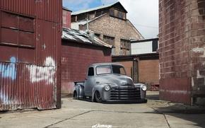 Picture Chevy, 1949, 3100, Motors, Resto