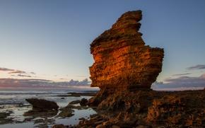 Picture sea, wave, rock, stones, shore