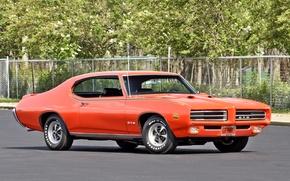 Picture Coupe, Pontiac, GTO, The, Hardtop, '1969, Judge