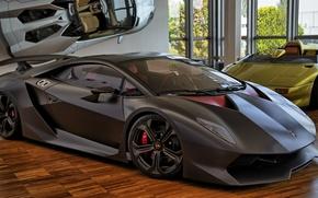 Picture Lamborghini, supercar, carbon, Sesto Elemento, Sant'agata Bolognese, Museum Lamborghini