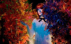 Picture British group, indie pop, art-rock, Baroque-pop, Florence and the Machine, singer Florence Welch, Indie rock, …