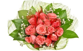 Picture roses, bouquet, gentle, March 8, beautiful, beautiful, Roses, lovely, chic, Bouquets