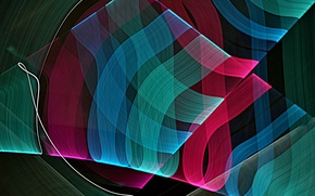 Picture rays, line, pattern, color, track