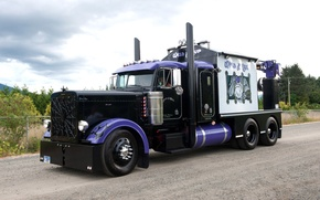 Wallpaper peterbilt, 379, tractor, tuning, chrome