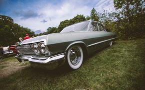 Picture Chevrolet, grey, Impala, 1963, Stance, Low Ride