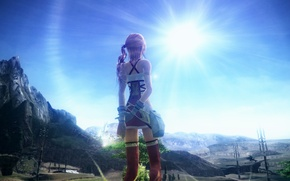 Picture Final Fantasy, Wallpaper, Game, Serah, Final Fantasy XII-2